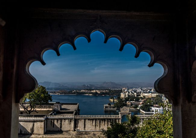 View of Lake Pichola from Palace