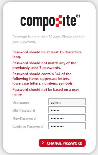 Правила для паролей в действии