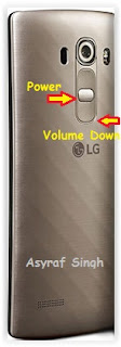 Hard Reset Android LG G4 Beat