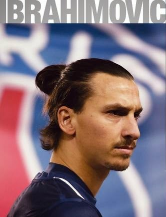 Ibrahimovic Top Knot Hair 2015