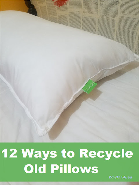 12 of the best ways to reuse old pillows