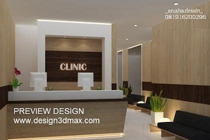 Jasa desain klinik kecantikan perawatan kesehatan