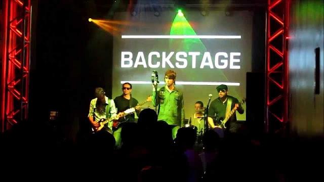 Backstage em Valencia
