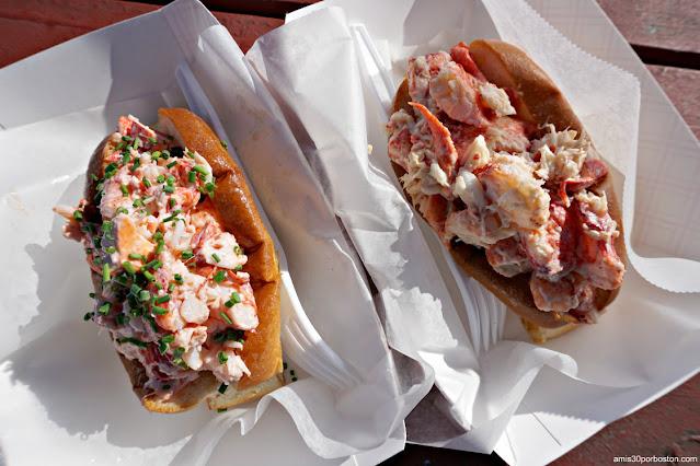 Lobster Rolls de Bite Into Maine en Fort Williams Park