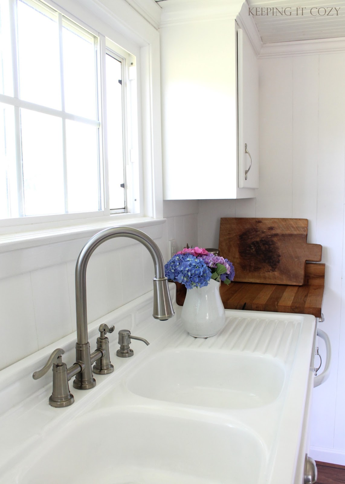 Keeping It Cozy: Kitchen Update: The Sink Area