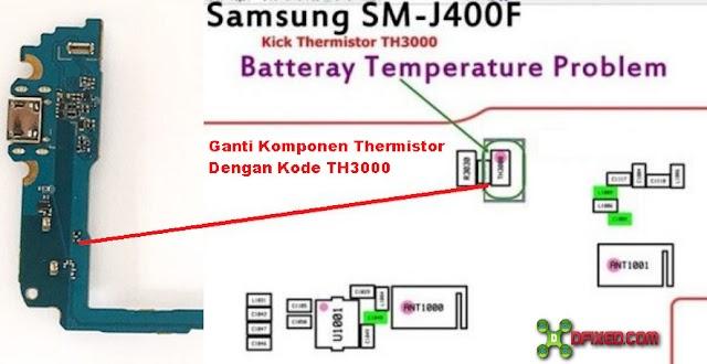 Solusi Kerusakan Samsung Galaxy J4 J400F Pengisian Dijeda