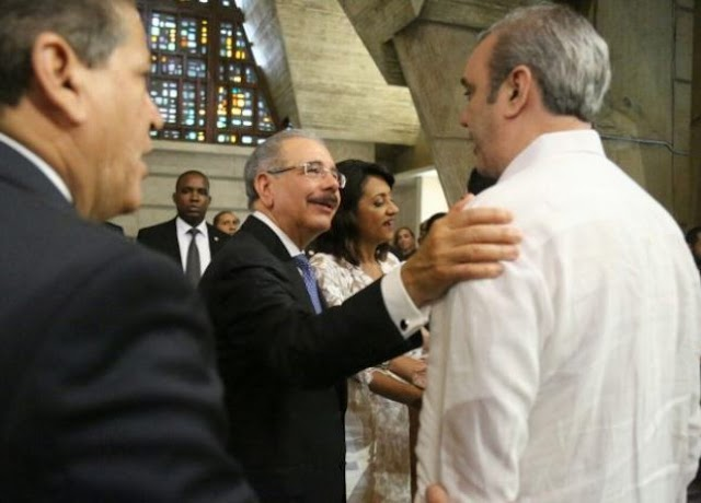 Presidente Medina recibirá este miércoles a Luis Abinader en el Palacio Nacional