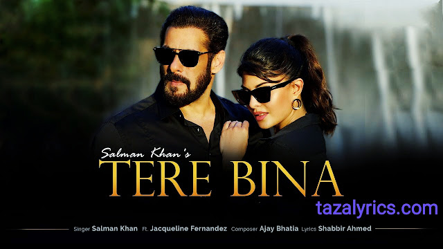 Tere Bina Lyrics - Salman Khan and Jacqueline Fernandez