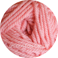 Ewe Ewe Yarns Wooly Worsted: 05 Cotton Candy