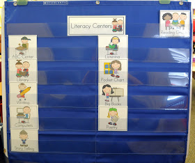 Literacy Center Management Board {FREEBIES}