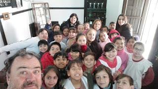 Estudiantes de la Primaria 37 visitaron La Biblioteca y el Museo Histórico de Monte Chingolo