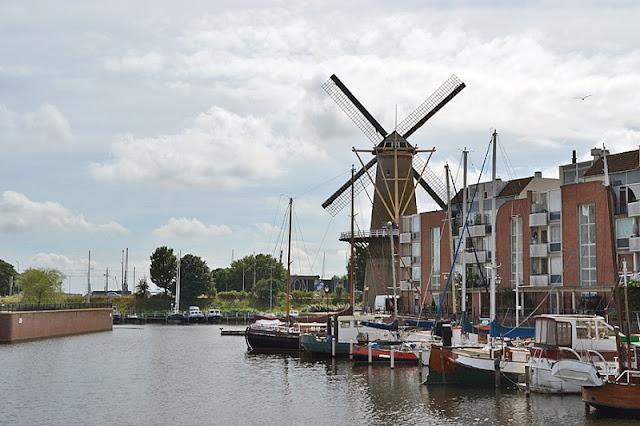 Região Delfshaven em Roterdã