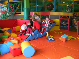 soft play area with pirate ship