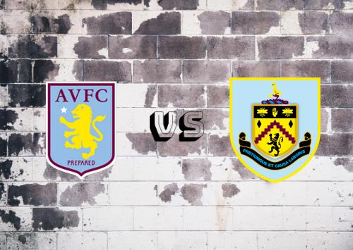 Aston Villa vs Burnley  Resumen