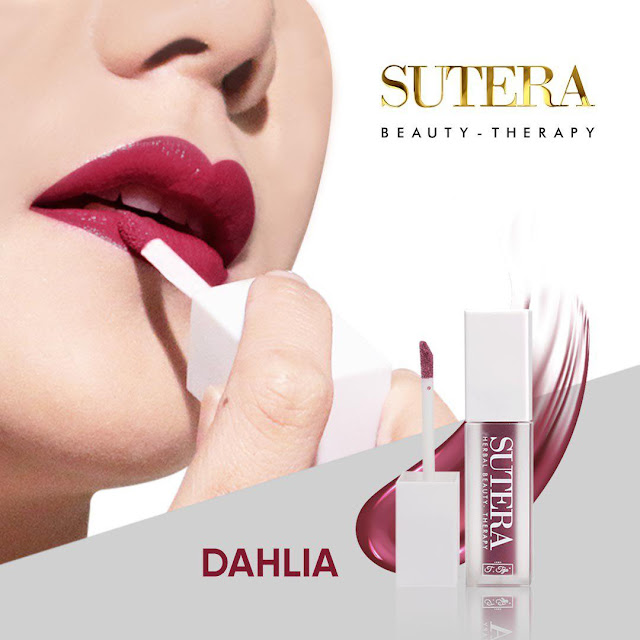 dahlia, sutera, lip therapy, jamu tun teja, herbal beauty therapy