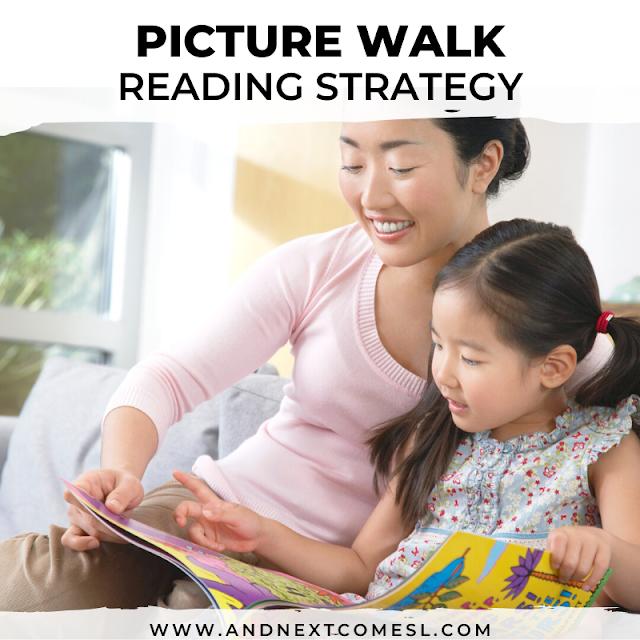How to do a picture book - a simple reading comprehension strategy