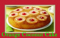 Moroccan Cuisine| Orange Coconut Cake