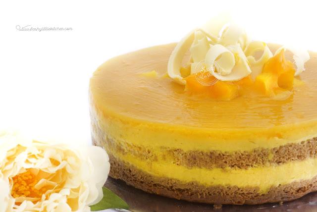 Triple Mango Cake