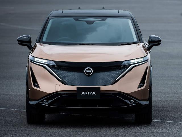 Nissan Ariya -  SUV 100% elétrico chega ao mercado em 2021