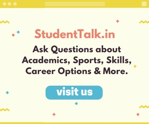 Student Talk is a platform for students to discuss and ask questions about academics, sports, skill development, career options and more.