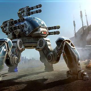 لعبة حرب الروبوتات مهكرة جاهزة مجانا، التهكير روبوت غير نشط + تعداد نقطي غير محدود