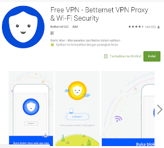 Full Review Free VPN - Betternet VPN Proxy & Wi-Fi Security
