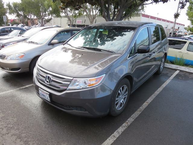 Honda Odyssey after collision damage repaired at Almost Everything Auto Body