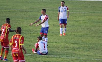 No final, Bahia vira e vence a Juazeirense