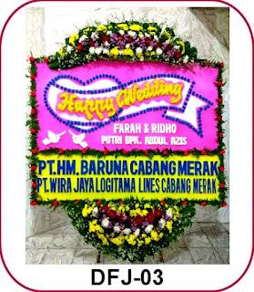 Karangan Bunga Papan Pernikahan Birawa Assembly Hall