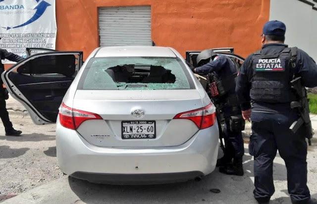 2 Sicarios eliminados al enfrentarse a la Policía Estatal. TAMAULIPAS (REYNOSA) H2