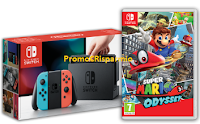 Logo Vinci 12 Console Nintendo Switch + software Super Mario con Danone