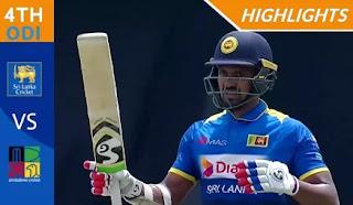 Cricket Highlights - Sri Lanka vs Zimbabwe 4th ODI 2017