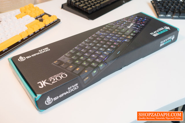 Shipadoo JK200 Mechanical Gaming Keyboard Review