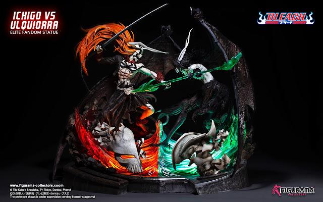 Bleach Ichigo VS Ulquiorra de Figurama Collectors