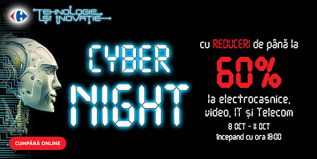 carrefour CYBER NIGHT 8-11.10