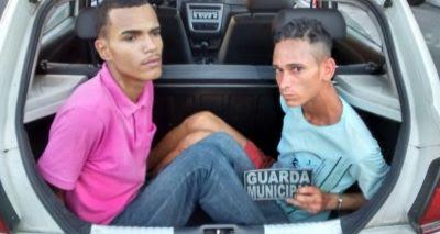 Guarda Civil de Salvador (BA) detém marginais que praticavam assaltos no Politeama