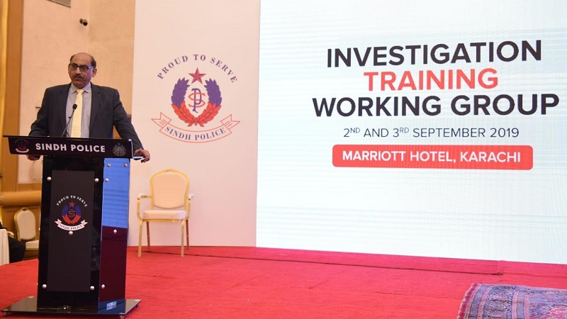 INVESTIGATION & TRAINING WORKING GROUP 2nd & 3rd Sep. 2019 AT KARACHI