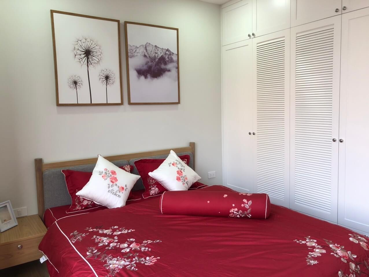 Mẫu phòng ngủ Master căn mẫu dự án Sunshine Garden