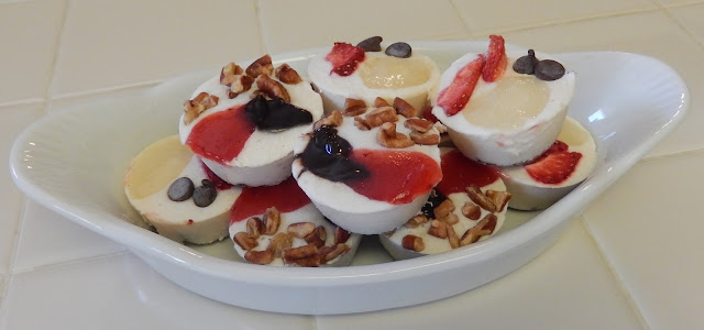 Shellys%2BFrozen%2BFaux%2BCheesecake%2BBites%2BRecipe Weight Loss Recipes Healthy Snacks: Frozen Faux Cheesecake Bites