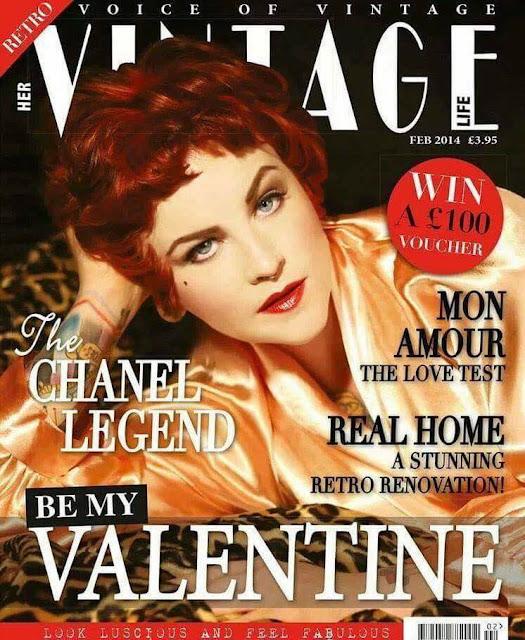 Haili Hughes Vintage Life Magazine Cover Girl