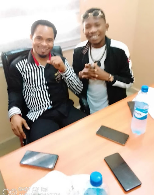 Prophet Odumeje Drums Support To Imo Music Chiefpriest (Mayormike)