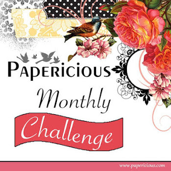 Papericious Monthly Challenge - make it festive