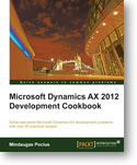 A new AX development book for Microsoft Dynamics AX 2012 Services!