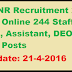 RIMSNR Recruitment 2016 Apply Online 244 Staff Nurse, Assistant, DEO & Other Posts