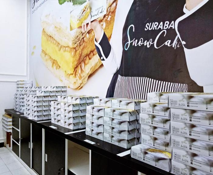 Review Snow Cake Surabaya