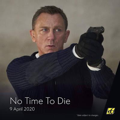 Senarai Filem Yang Akan Keluar di Panggung Wayang Tahun 2020 - No Time To Die (2020)