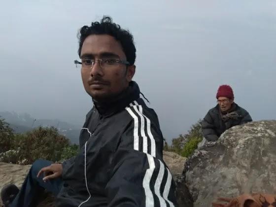 At Ramitey Dhara View Point