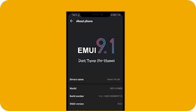 Dark Emui 9.1