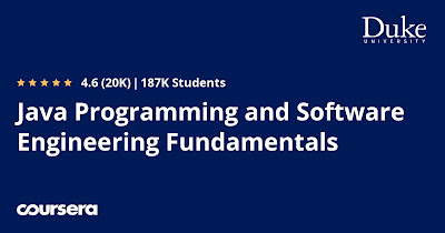 Coursera's Java Programming and Software Engineering Fundamentals Specialization Review