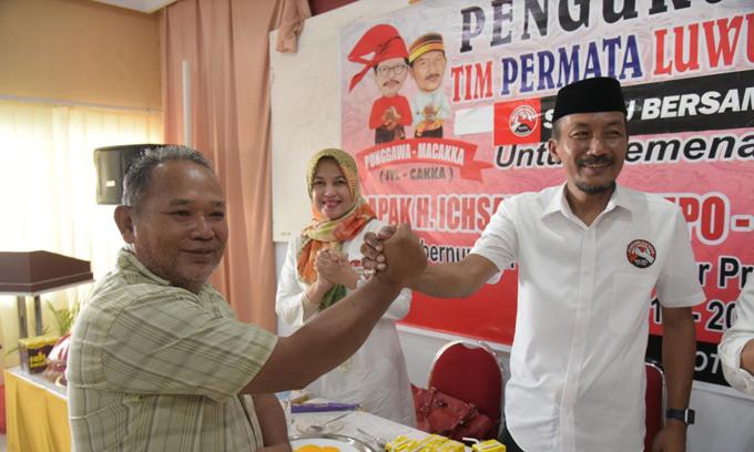 Tinggalkan Prof Andalan, Sekretaris Tim NA-ASS Luwu Utara Hengkang ke IYL-Cakka